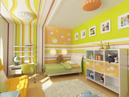 Окраска детских помещений специальной бактерицидной краской