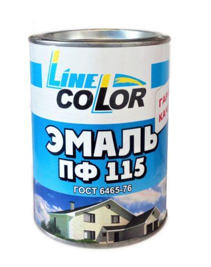 Эмаль ПФ-115 0,9 л LINE COLOR
