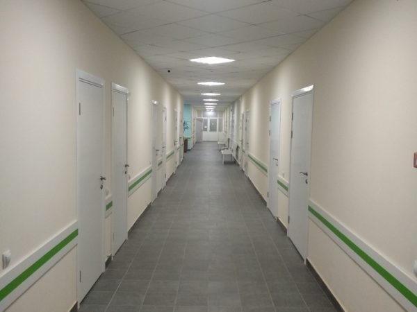 Покраска медицинских кабинетов АКВАЛАЙТ