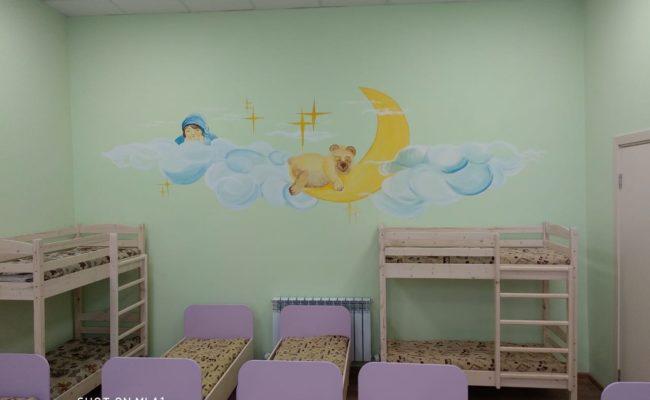 Оформление детского сада красками АКВАЛАЙТ