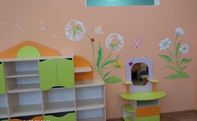Покраска детского сада красками АКВАЛАЙТ